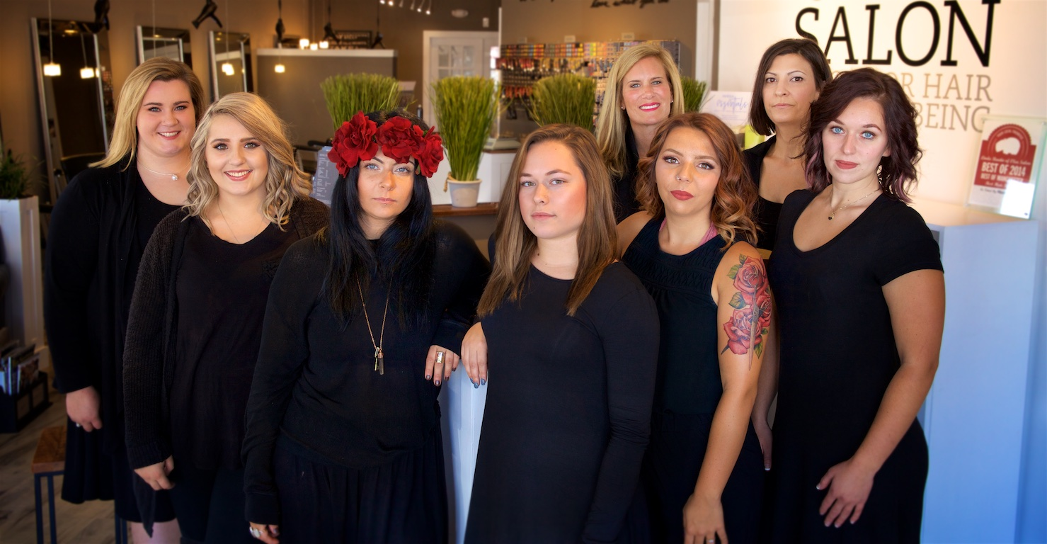 Olea Manchester Salon Stylists and Massage Therapist Team